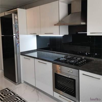 Столешница из кварца для кухни. Aizano 4043
